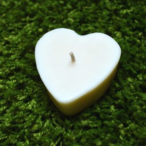 coeur blanc carré