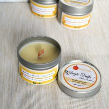 Bougie parfumée naturelle cannelle orange