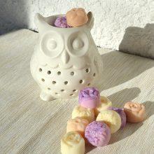 Brule-parfum hibou chouette