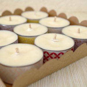 Inspiration Cadeau Bougies Naturelles Parfumées en Coffret Cadeau